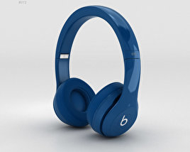 3D model of Beats by Dr. Dre Solo2 On-Ear Headphones Blue