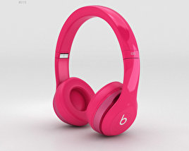 3D model of Beats by Dr. Dre Solo2 On-Ear Headphones Pink
