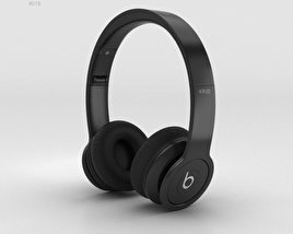 3D model of Beats by Dr. Dre Solo HD Matte Black