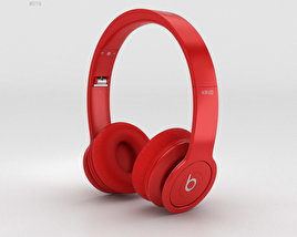 3D model of Beats by Dr. Dre Solo HD Matte Red