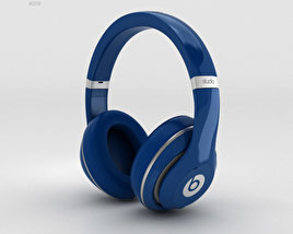 3D model of Beats by Dr. Dre Studio Over-Ear Headphones Blue
