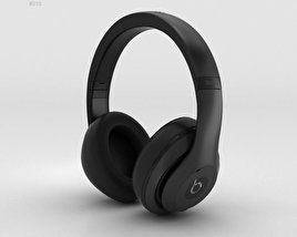 3D model of Beats by Dr. Dre Studio Over-Ear Headphones Matte Black