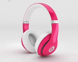 3D model of Beats by Dr. Dre Studio Over-Ear Headphones Pink
