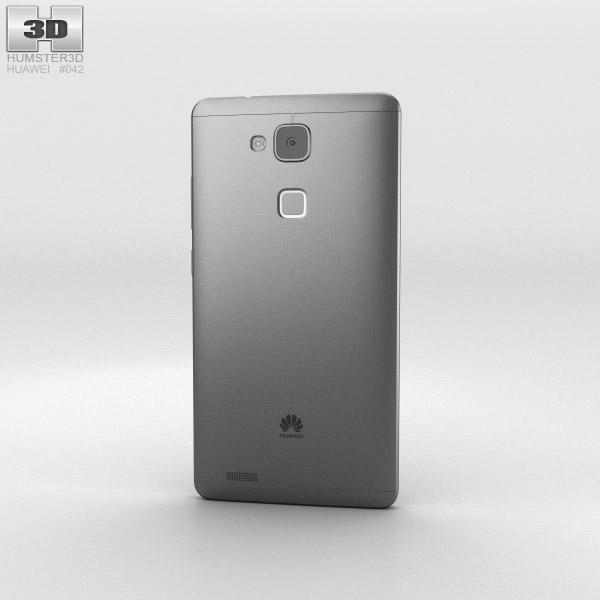 Huawei Ascend Mate 7 Obsidian Black 3d model