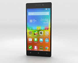 3D model of Lenovo Vibe X2 White