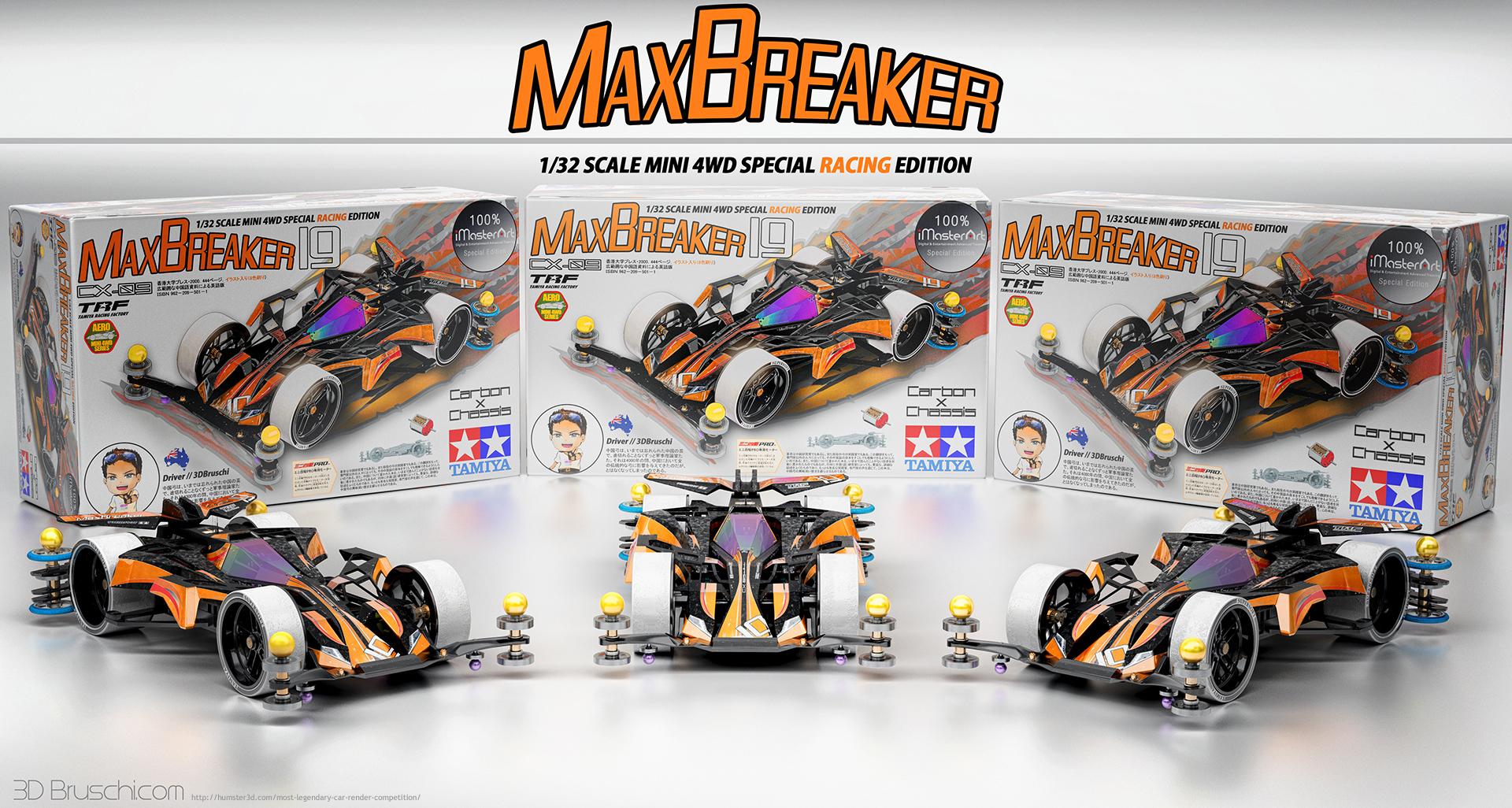 Mini 4WD Max Breaker Edition 3d art