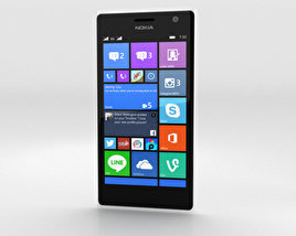 3D model of Nokia Lumia 730 White
