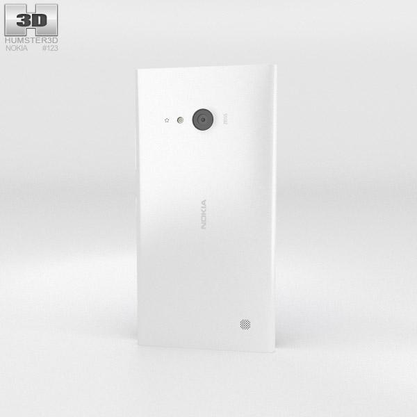 Nokia Lumia 730 White 3d model