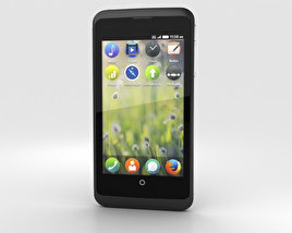 3D model of ZTE Open C Black