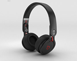 3D model of Beats Mixr High-Performance Professional Black