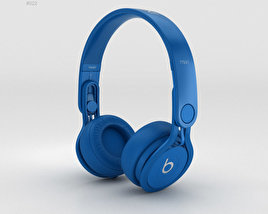 3D model of Beats Mixr High-Performance Professional Blue