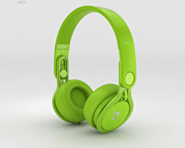 3D model of Beats Mixr High-Performance Professional Green