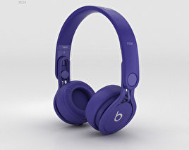 3D model of Beats Mixr High-Performance Professional Indigo