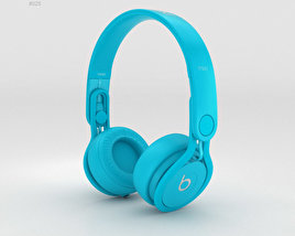 3D model of Beats Mixr High-Performance Professional Light Blue