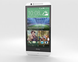 3D model of HTC Desire 510 Vanilla White