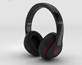 3D model of Beats by Dr. Dre Studio Wireless Over-Ear Black