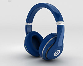 3D model of Beats by Dr. Dre Studio Wireless Over-Ear Blue
