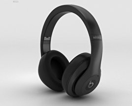 3D model of Beats by Dr. Dre Studio Wireless Over-Ear Matte Black