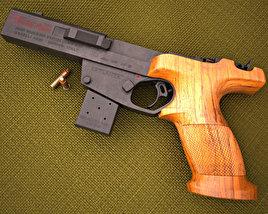 3D model of Benelli MP 95E 22LR