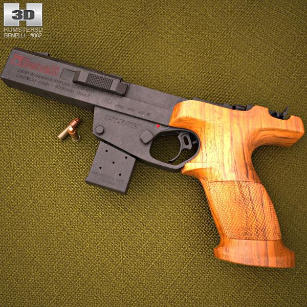 Benelli MP 95E 22LR 3D model