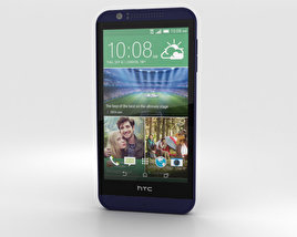 3D model of HTC Desire 510 Deep Navy Blue