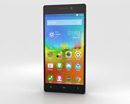 3D model of Lenovo Vibe X2 Dark Grey