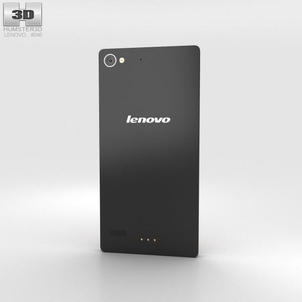 Lenovo Vibe X2 Dark Grey 3d model