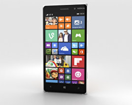Nokia Lumia 830 Orange 3D model