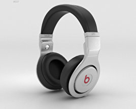3D model of Beats Pro Over-Ear Headphones Infinite Black