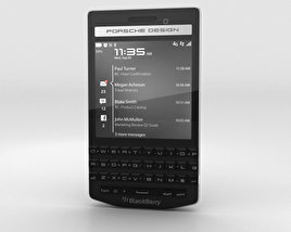 3D model of BlackBerry Porsche Design P'9983 Black
