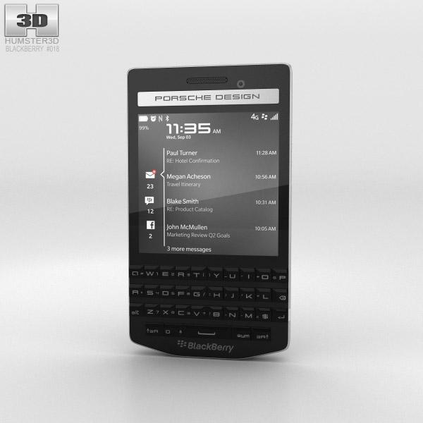 BlackBerry Porsche Design P'9983 Black 3d model