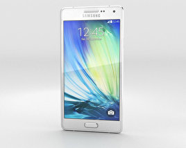 3D model of Samsung Galaxy Alpha A3 Pearl White