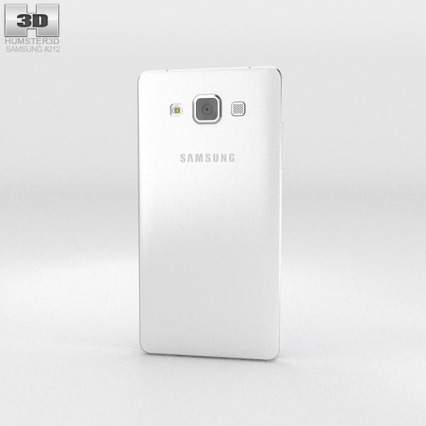 Samsung Galaxy Alpha A3 Pearl White 3d model
