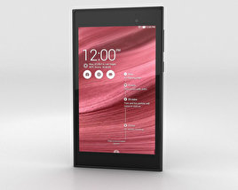 3D model of Asus MeMO Pad 7 Burgundy Red