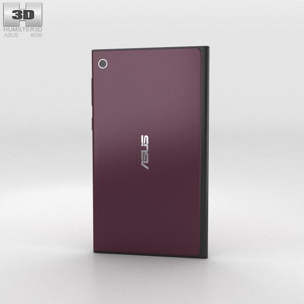 Asus MeMO Pad 7 Burgundy Red 3d model