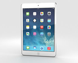 3D model of Apple iPad Mini 2 Silver