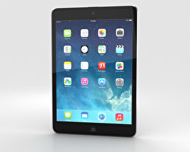 3D model of Apple iPad Mini 2 Space Grey