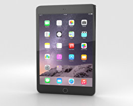3D model of Apple iPad Mini 3 Space Grey