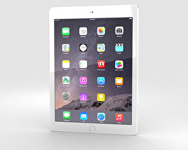 3D model of Apple iPad Air 2 Cellular Silver
