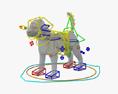 Labrador Retriever Puppy 3d model