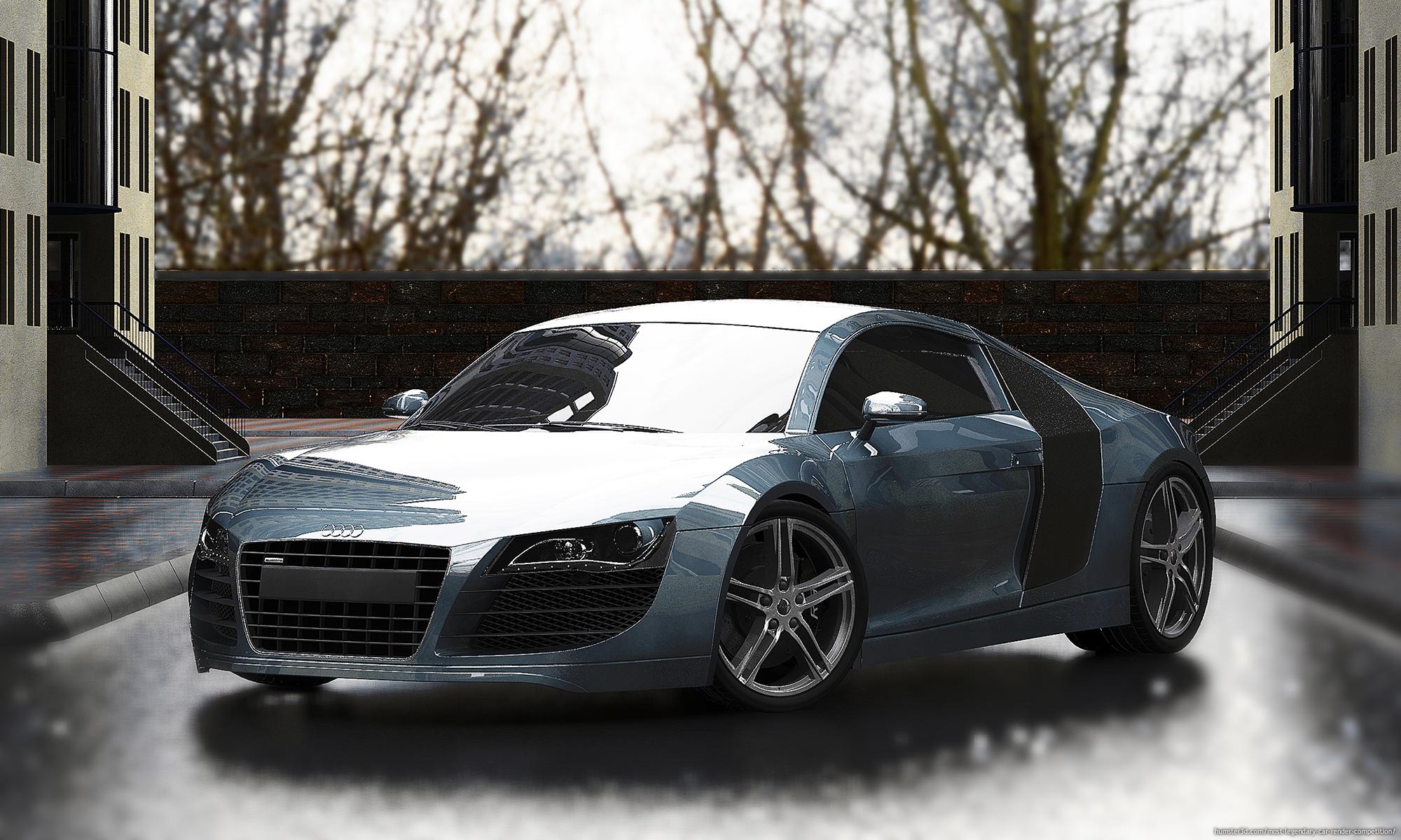 Audi's Perfection 3d art