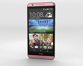 3D model of HTC Desire 820 Flamingo Grey