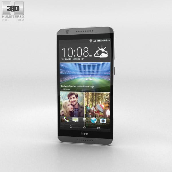 HTC Desire 820 Milky-way Grey 3D model
