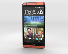 3D model of HTC Desire 820 Monarch Orange