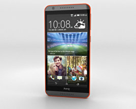 3D model of HTC Desire 820 Saffron Grey