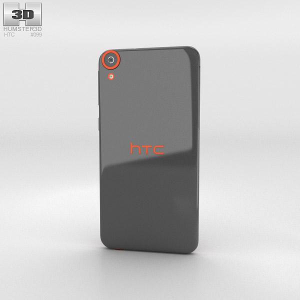 HTC Desire 820 Saffron Grey 3d model