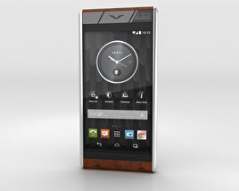 3D model of Vertu Aster Cognac Ostrich