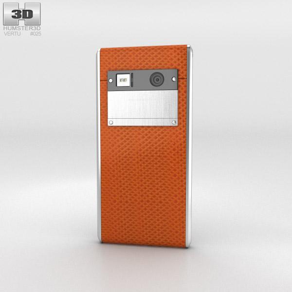 Vertu Aster Tangerine Karung 3d model
