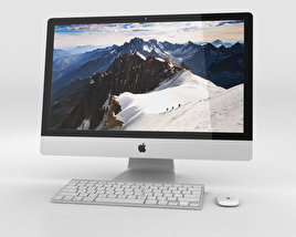 3D model of Apple iMac 27-inch Retina 5K