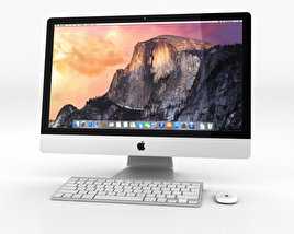 3D model of Apple iMac 27-inch 2014